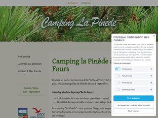 Camping La Pinède 3 étoiles à Six-Fours-Les-Plages