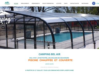Camping Bel Air 3 étoiles à Saint Ours