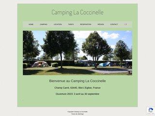 Camping La Coccinelle 2 étoiles à Blot-L'Église