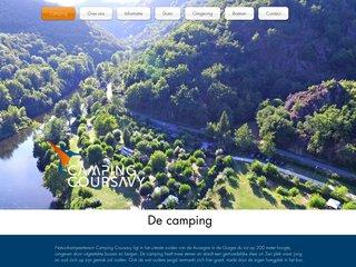 Camping De Coursavy 2 étoiles à Cassaniouze