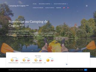 Camping De Cognac 3 étoiles à Cognac