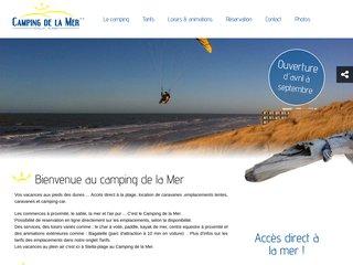 Camping De La Mer 2 étoiles à Stella Plage