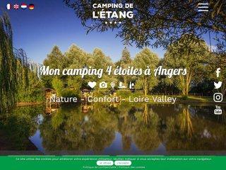 Camping De L'Étang 4 étoiles à Brissac-Quincé