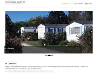 Camping La Garenne 2 étoiles à Les Mathes