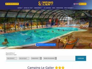 Camping Le Galier 2 étoiles à St Alban Sur Limagnole