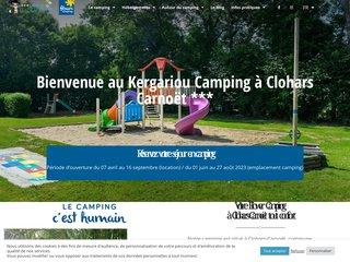 Camping Le Kergariou 3 étoiles à Clohars Carnoet