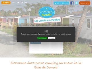 Camping Les Galets De La Molliere 3 étoiles à Cayeux-Sur-Mer