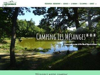 Camping Les Mésanges 3 étoiles à Montsauche-Les-Settons