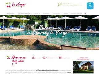 Camping Le Verger 4 étoiles à Baratier