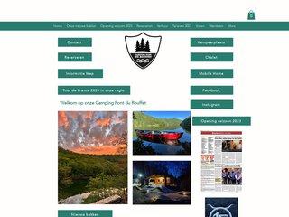 Camping Pont Du Rouffet 2 étoiles à Saint-Martin-Cantalès