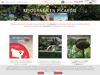 Camping Ech'Bosqué 2 étoiles à Fort-Mahon-Plage