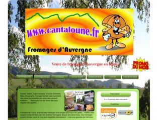 screenshot http://www.cantaloune.fr Fromage fermier : cantaloune