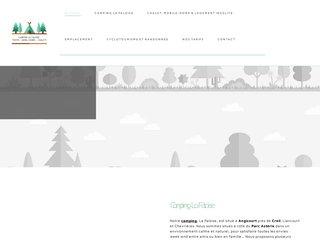 Camping La Faloise 3 étoiles à Angicourt