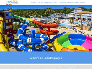 Camping L'Hermitage 4 étoiles à Valras-Plage
