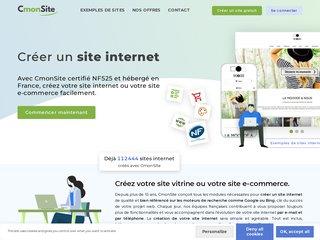 CmonSite.fr : création de sites internet et de boutiques en ligne