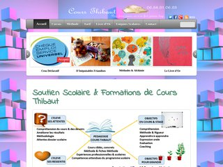screenshot http://www.coursthibaut.fr <title>ANNUAIRE NOOGLE.  webmaster connect</title>