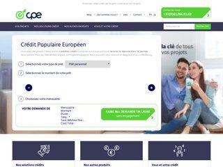 Crédit en Belgique
