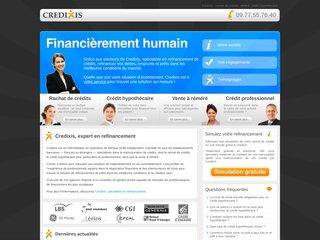 Credixis - Rachat de crédits