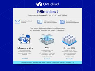 screenshot http://www.defi-energies.fr Défi énergies artisan en énergies renouvelables