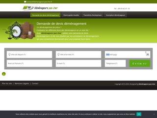 screenshot http://www.demenageurs-pas-cher.fr