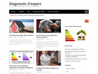 screenshot http://www.diagnostic-expert.com Diagnostic immobilier savoie chambery albertville