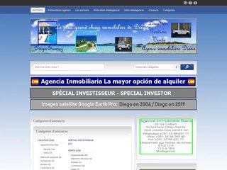 screenshot http://www.diego-suarez-immobilier.com <title>ANNUAIRE NOOGLE.  webmaster connect</title>