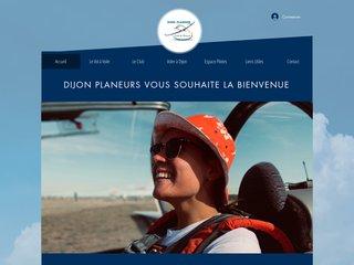 screenshot http://www.dijon-planeur.fr Dijon-planeur
