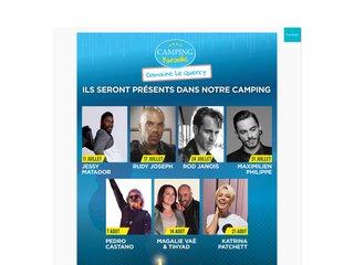 Camping Domaine Quercy 4 étoiles à Gourdon
