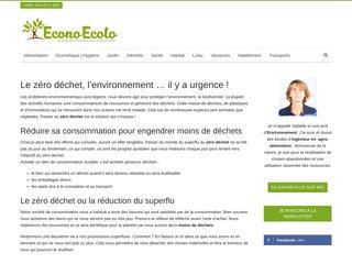 screenshot http://www.econo-ecolo.org Econo-ecolo
