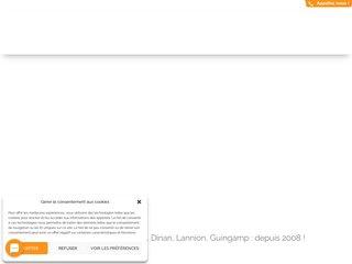 screenshot http://www.elyazalee.com Votre site internet autrement efficace !
