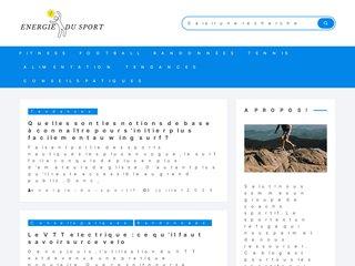 screenshot http://www.energie-du-sportif.com Energie-du-sportif.com