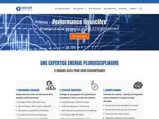 screenshot http://www.energiesdev.fr Energiesdev carbone et fourniture gaz  électricité