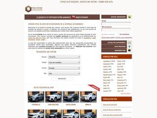 screenshot http://www.espacevoiture.com