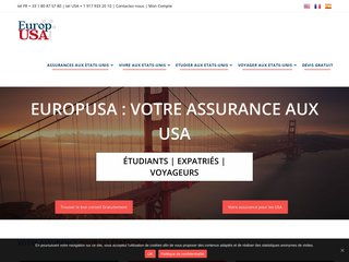 EuropUSA: Vivre, travailler, etudier aux USA