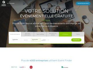 screenshot http://www.event-finder.com