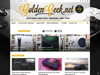 GoldenGeek - Blog Geek Jeux Vidéos, Xbox One, PS4, PS Vita, Cinéma