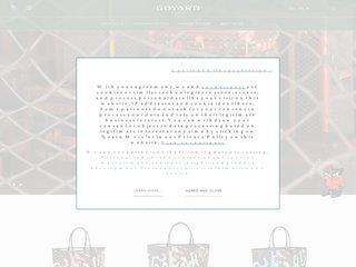 screenshot http://www.goyard.fr/ Goyard paris