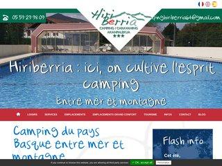 Camping M. Aguerre Joseph 3 étoiles à Itxassou