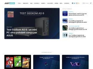 JustGeek.fr - Blog sur l'actualité Geek, Web, Mobile et High Tech