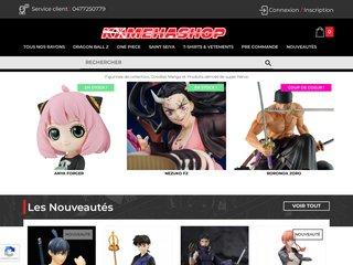 screenshot http://www.kamehashop.fr Kamehashop