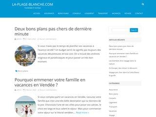 Camping La Plage Blanche 3 étoiles à Ounans