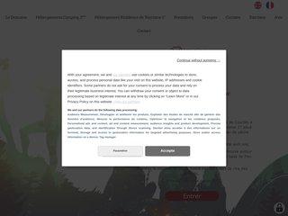 Camping Sas Lacs De Courtes 3 étoiles à Estang