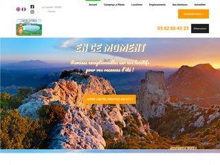 Camping La Pibola 3 étoiles à Camon