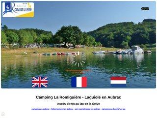 Camping La Romiguière 3 étoiles à Montpeyroux