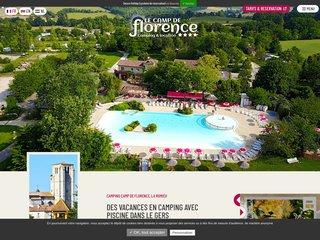 Camping Le Camp De Florence 4 étoiles à La Romieu