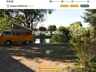 Camping Le Moulin Fort 3 étoiles à Francueil