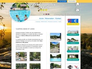 Camping Les Courtilles Du Lido 3 étoiles à Veneux Les Sablons