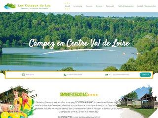 Camping Les Coteaux Du Lac 4 étoiles à Chemillé Sur Indrois