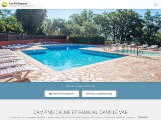 Camping Les Philippons 3 étoiles à Les Adrets-De-L'Estérel