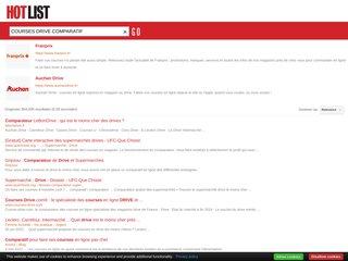 screenshot http://www.livraison-des-courses.fr Shopcourses-courses en ligne